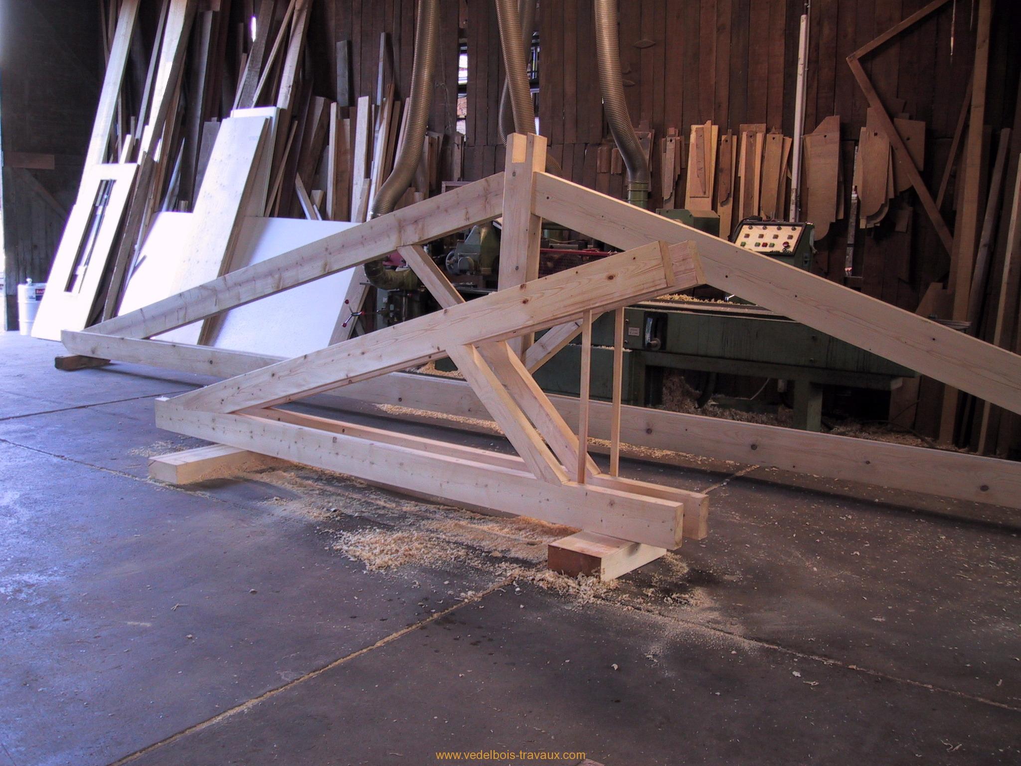 ferme charpente traditionnelle archives sarl vedel. Black Bedroom Furniture Sets. Home Design Ideas