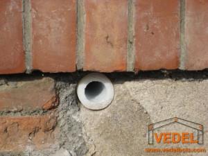 Probl me murs humides les ass cheurs drain power filtrex for Probleme d humidite mur interieur