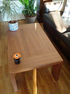 Nous réalisons à vos mesure votre table basse de salon.