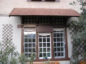 Auvent : Protection de fenêtres - Vue 01