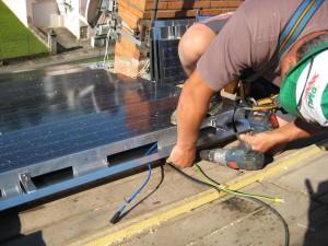 Pose de tuiles Photovoltaïques - 04