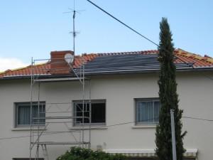 Pose de tuiles Photovoltaïques - 03